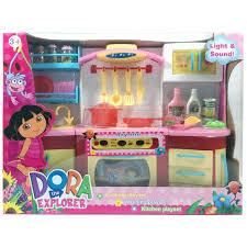 dora cooking playset kitchen set washing set happy toon toko
