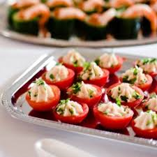 canapes for chicken mousse in tomato retro canapes for a 50 rock n roll