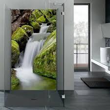 alu dibond motivwand dusche duschrückwand wandbild