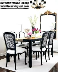 Dining Room Chair Black And White Chairs Fresh With Photos Of Breathtaking Tan Leather
