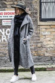 long grey coat sheinside gray long grey coat and winter