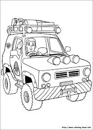 Coloring Pages Vehicles Children Activities