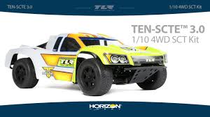 100 Losi Trucks Team Racing TENSCTE 30 4WD Short Course Truck Kit YouTube