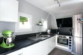 credence cuisine noir et blanc carrelage pour cuisine noir et blanc cethosia me
