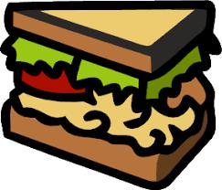 Tuna Sandwich Clipart