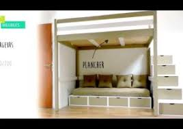 chambre mezzanine adulte lits mezzanines modulable con lit mezzanine adulte 2 places e