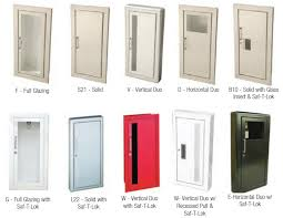 Recessed Fire Extinguisher Cabinet Mounting Height by J U0026 L Fire Extinguisher Cabinets Fox Valley Fire U0026 Safety