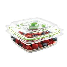 Strata Smart Box ClipOn Folding Lid Carry Handles 40 Litre Clear
