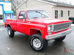 Frame Off Custom 4X4 Chevy Cheyenne Red Truck Best Of Everything