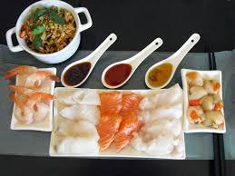 cuisine poisson facile fondue japonaise facile au poisson la recette facile par toqués