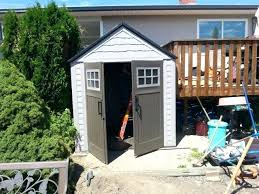 Rubbermaid Vertical Shed Home Depot by Rubbermaid Big Max Sheds Deck Storage Shed Rubbermaid Big Max Jr