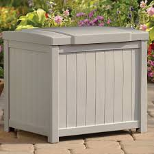 Keter Glenwood Deck Box Assembly by Deck Boxes U0026 Patio Storage You U0027ll Love Wayfair