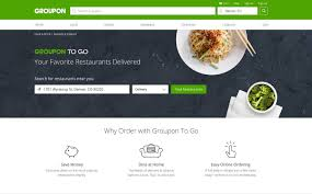 groupon cuisine groupon dishes out groupon to gotm on demand food delivery from