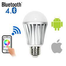 smart led dimmable light bulb