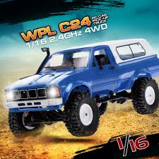 Blue WPL C24 1/16 2.4GHz 4WD RC Car With Headlight Remote Control ... Wpl Wplb1 116 Rc Truck 24g 4wd Crawler Off Road Car With Light Cars Buy Remote Control And Trucks At Modelflight Shop Brushless Electric Monster Top 2 18 Scale 86291 Injora Hard Plastic 313mm Wheelbase Pickup Shell Kit For 1 Fayee Fy002b Rc 720p Hd Wifi Fpv Offroad Military Tamiya 110 Toyota Bruiser 4x4 58519 Fierce Knight 24 Ghz Pro System Hot Sale Jjrc Army Fy001b 24ghz Super Clod Buster Towerhobbiescom Hg P407 Rally Yato Metal 4x4