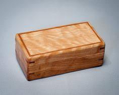 Keepsake Box In Black Walnut And Mahogany