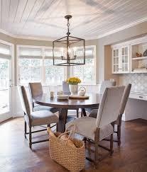 rustic dining room lighting brown wooden dining table elegant