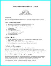 Network Admin Resume Objective Administrator Career Analyst Manager Netwo For