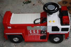 100 Fire Truck Ride On Vintage On Toy S