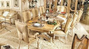 Traditional Italian Living Room Sets Dining Series By Luxury Furniture Special Set Enriched With