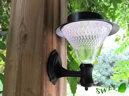 stylish solar wall lights for garden solar powered exterior wall