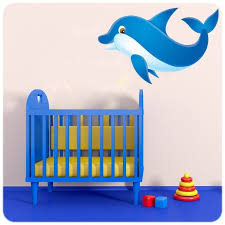 chambre dauphin large choix de stickers poissons pour chambres de bébé et enfant