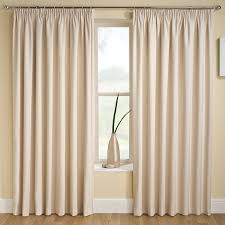 tranquility plain stripe cream natural 90 x 90 thermal backed