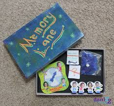 Memory Lane Board Game DIY Gifts For Him Anniversary Gift