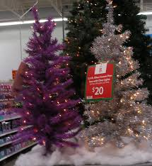 Itwinkle Christmas Tree Walmart by Christmas Retro Christmas Trees One White Pink And Starburst