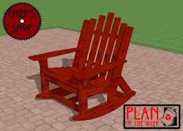 Banana Shaped Rocking Chairs by 35 Free Diy Adirondack Chair Plans U0026 Ideas For Relaxing In Your