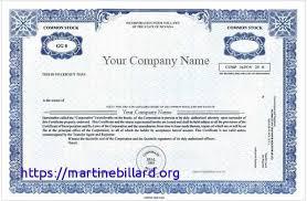 Corporate Bond Certificate Template New Choice Image Design