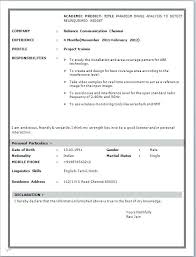 Fresher Resume Sample Ready Format For Software Engineer Pdf