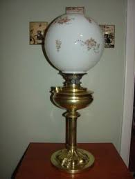 Whale Oil Lamps Ebay by Antique Victorian Gone With The Wind Fostoria Oil Lamp Hand