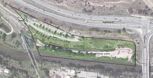 Aerial View Of The Proposed Site For Gateway River Park Near Carbondale In Western Colorado