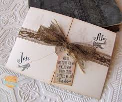 Wedding Invitation Rustic Vintage Invitations With Surprising For Your Design 7