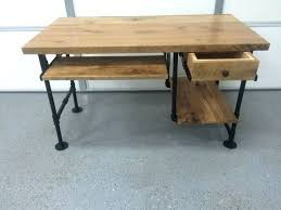 Building A Simple Wooden Desk by Desk Wood Desk Designs Plans Rustic Wood Desk Plans Designing