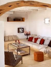 wohnideen wohnzimmer rustikal