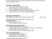 church resume search free resume