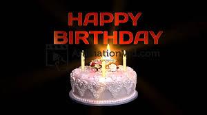 Happy Birthday Cake Animation Video