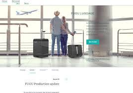 100 Fugu Truck Luggage Expandable Suitcase Prelaunch Product Hunt