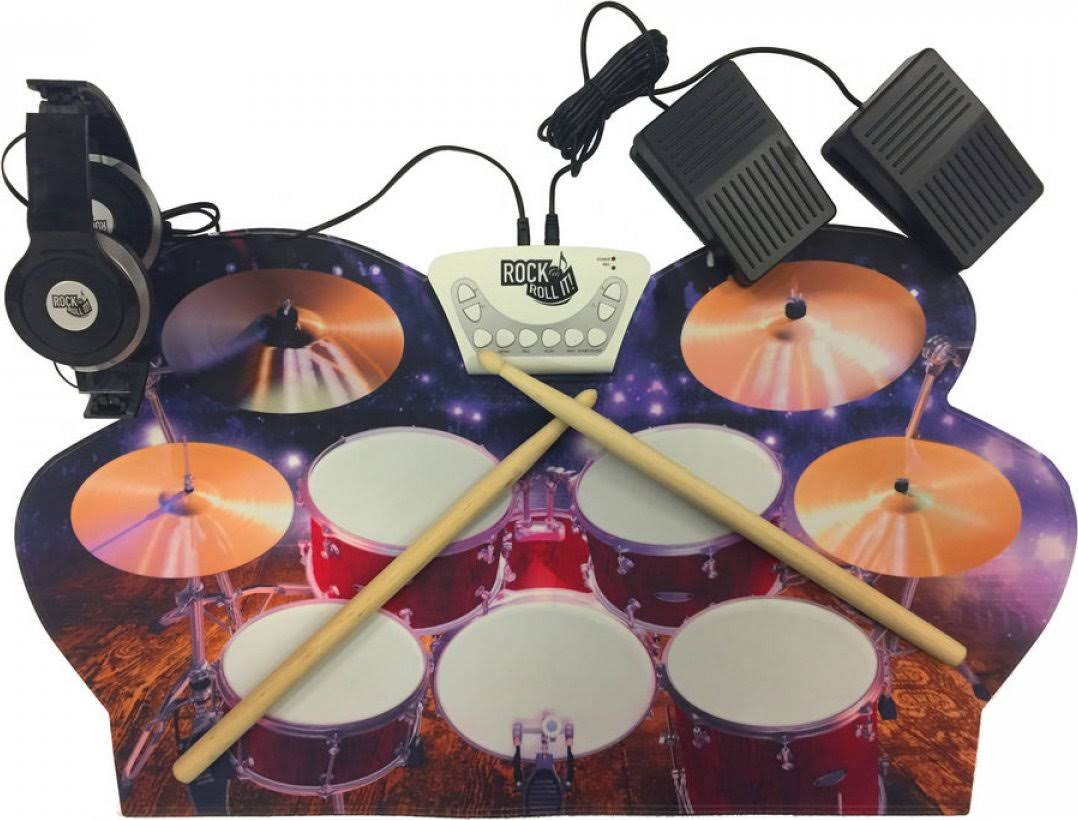 Rock and Roll It Drum Live - Flexible Portable & Battery or USB