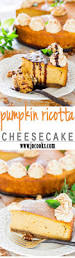 Porcupine Eating A Pumpkin Youtube by Pumpkin Ricotta Cheesecake Jo Cooks