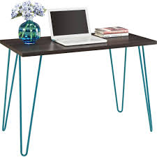 Mainstays Desk Chair Multiple Colors Blue by Mainstays Retro Desk Multiple Colors Walmart Com