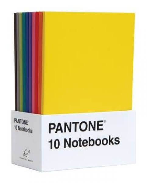 Pantone: 10 Notebooks - Pantone Inc.