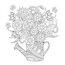 Lilies In Vase Sketching