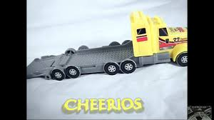 Cheerios Semi -Truck Hauler General Mills #33 | Youtube Toy Video ... Vintage 1960s Japan Safeway 16 Tin Tractor Trailer Toy Semi Truck Hess Toy Revealed Hesstruck2013 Hexpress Amazoncom Newray Peterbilt Us Navy Diecast 132 Scale Mack Log Diecast Replica Assorted Cars Trucks And Collection Disney Promotional Large Stress Toys With Custom Logo For 1455 Ea 164th Dcp Freightliner Cabover Custom Youtube Sandi Pointe Virtual Library Of Collections Reviews Truckfreightercom Dunkin Donuts Collector Toy Di Cast Truck Semi Tractor Trailer Stock Turn Into Gas Rc Best Resource R Us Semitrailer By Thomasanime On Deviantart