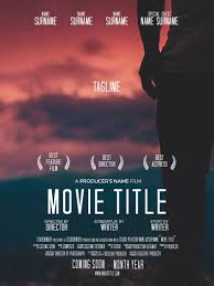DOWNLOAD MOVIE POSTER CREDITS TEMPLATE
