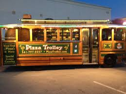 Pizza Trolley Food Truck -