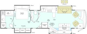 Class A Motorhome Floor Plans Small B Rv Photopixar
