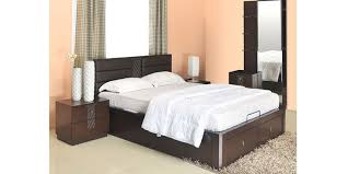 Buy Triumph King Size Bedroom Set in Dark Walnut Colour by Home